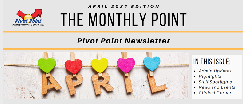 April 2021 Newsletter Header