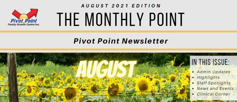 Pivot Point August 2021 Newsletter