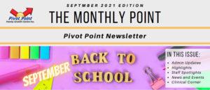 Pivot Point September 2021 Newsletter Header